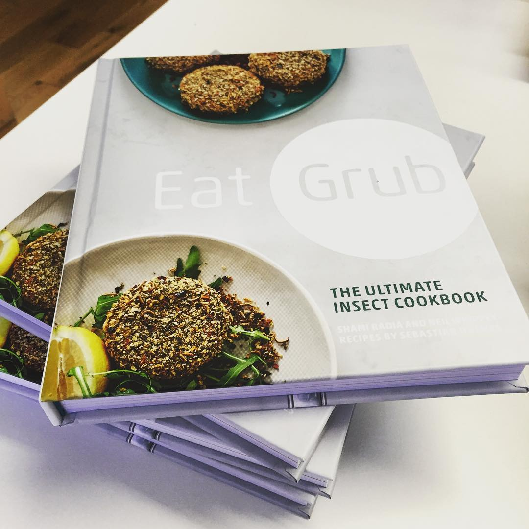 Eat Grub: The Ultimate Insect Cook Book - out on the 7th April