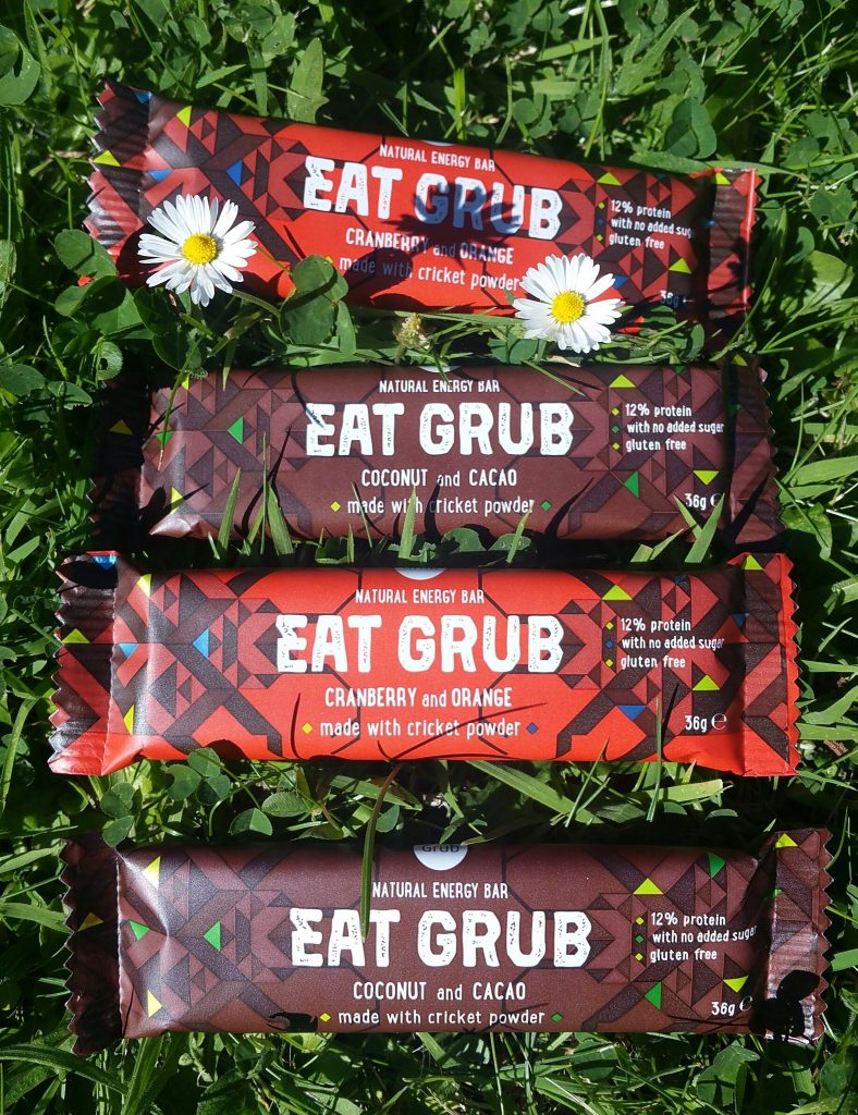 Eat Grub: energy bars for runners