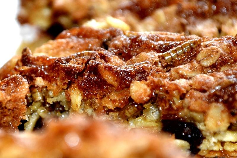 Mealworm Flapjacks
