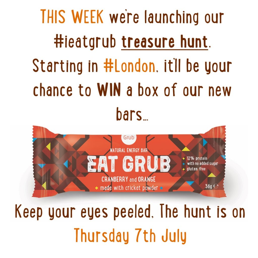 #ieatgrub Treasure Hunt