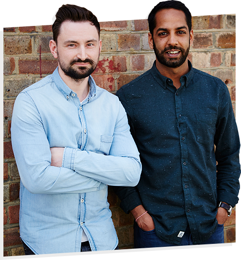 About us: Shami and Neil