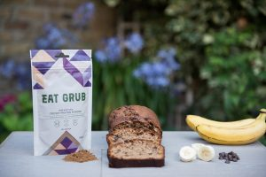 cricket powder banana bread
