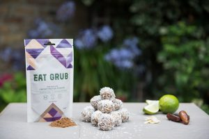 cricket powder or cricket flour or cricket protein powder - coconut and lime protein balls
