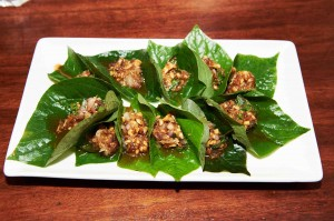 Insect Miang up close